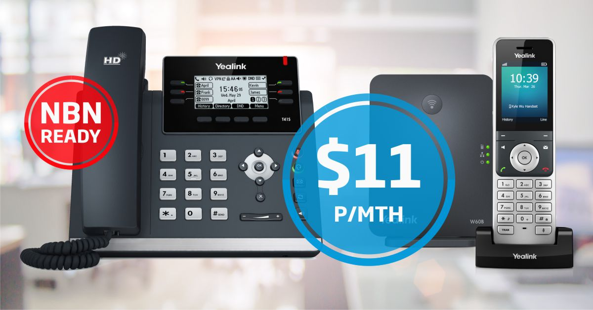 NEW NetPhone Plans. The Complete Business Phone Bundle.